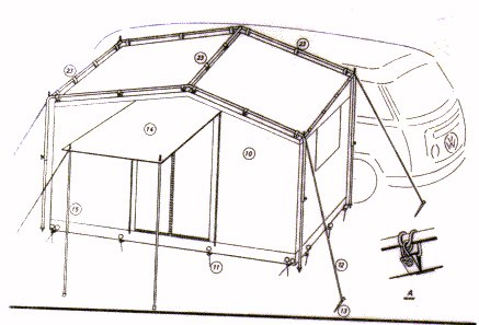 sc 1 st  VW Accessory C&ing Tents Page & Tents for Breadloaves